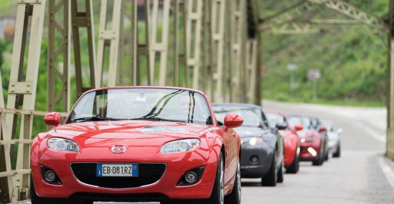 Mazda raduno MX-5 2018 Andar per Langhe