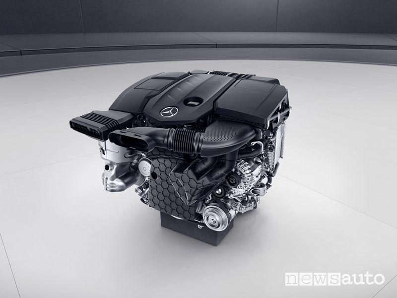 Mercedes diesel OM 654