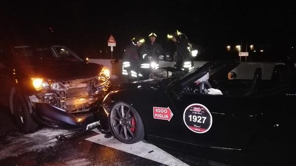 Incidente Mille Miglia 2018