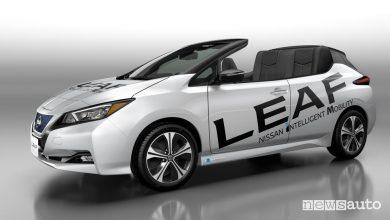 Nissan Leaf Open Car auto elettrica cabrio