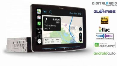 Autoradio touch screen Alpine iLX-F903D