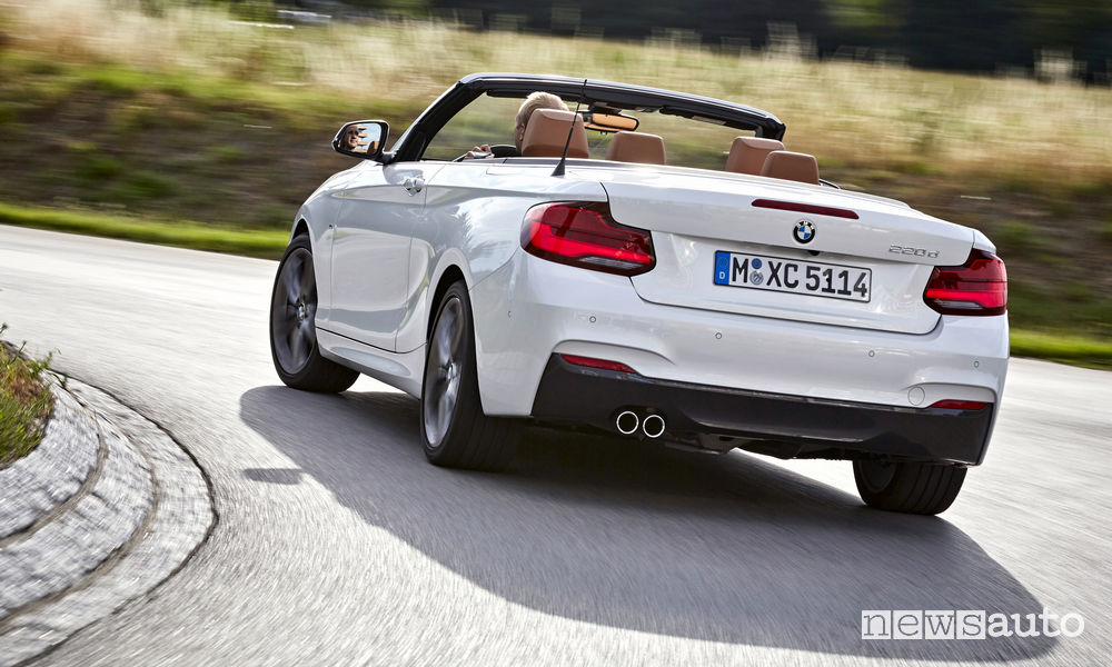 Auto cabrio usate 2018 BMW Serie 2 Cabrio
