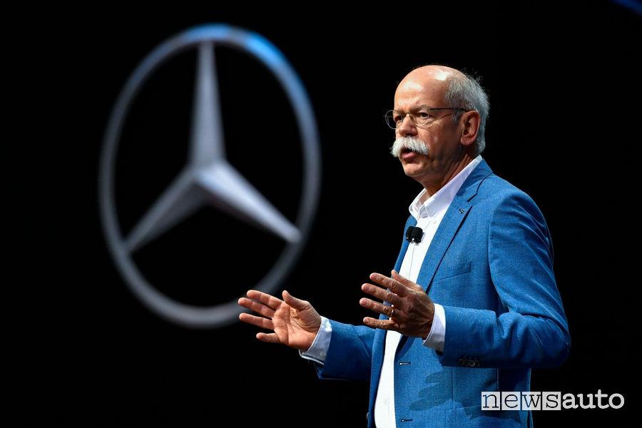 Dieter Zetsche Presidente CEO Daimler Mercedes