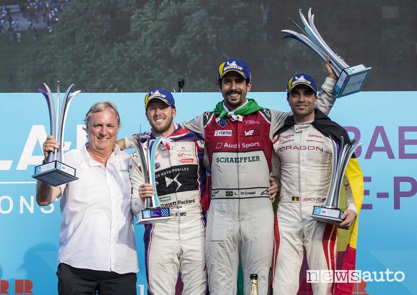 Formula E CLASSIFICA gara Zurigo podio