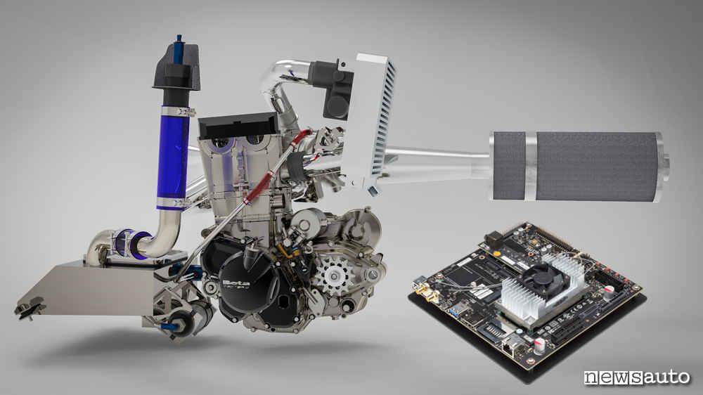 Motore Formula SAE guida autonoma Driverless