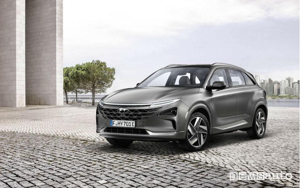 Auto a idrogeno Hyundai NEXO