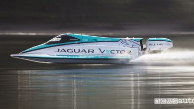 Record velocità motore elettrico Jaguar Vector Racing