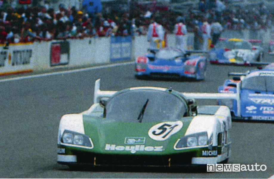 WM Peugeot Le Mans 1988 record di velocità