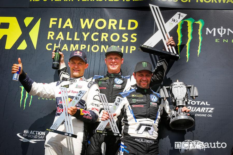WRX 2018 classifica Rallycross Norvegia