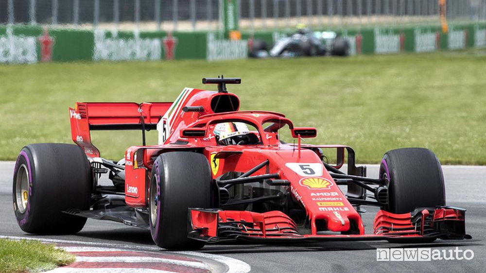 Ferrari Canada Vettel - Calendario Gare giugno 2018