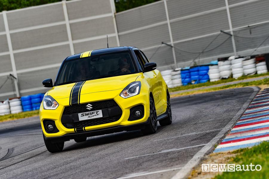 Suzuki al Parco Valentino Swift Sport