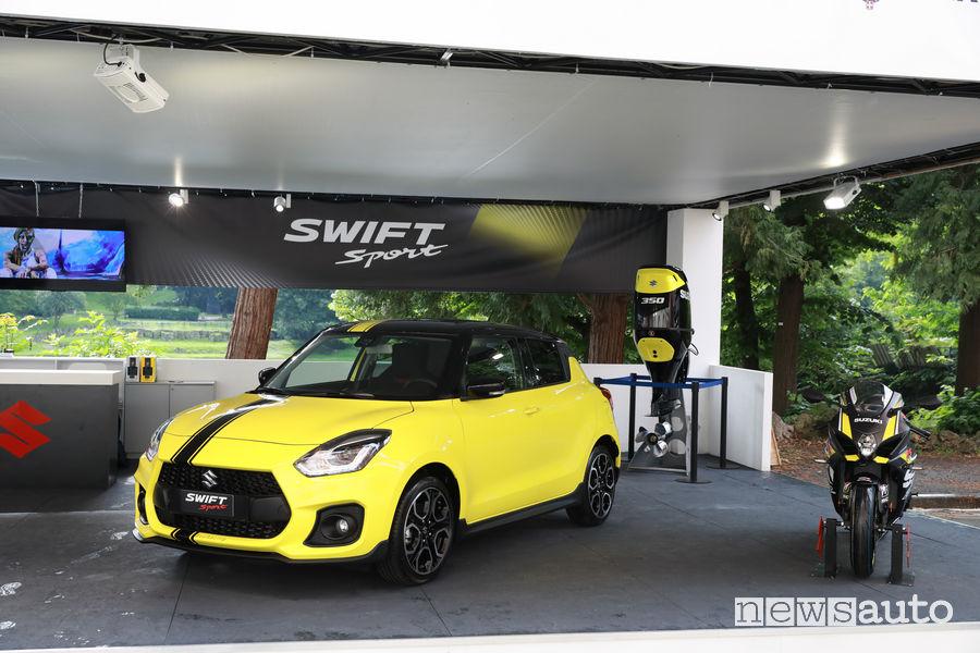 Suzuki al Parco Valentino 2018