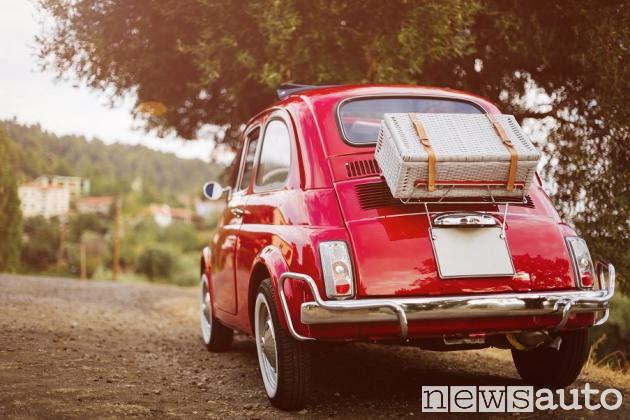Fiat 500 classic con borsa esterna bollo auto storiche 2018 la fiat 500 icona italiana