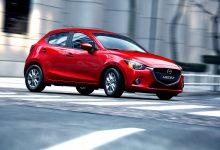 Vista frontale Nuova Mazda2