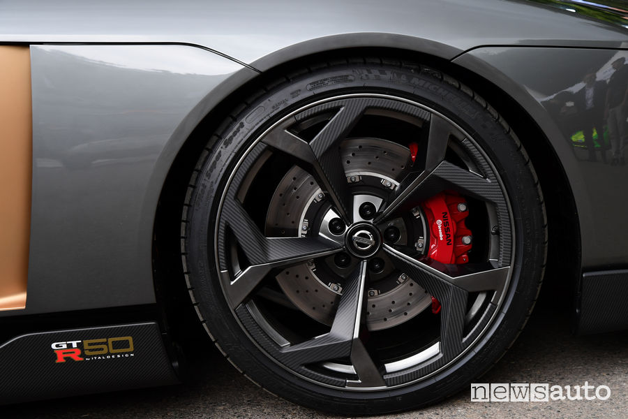 Nissan GT-R 50 Italdesign al Goodwood Festival 2018