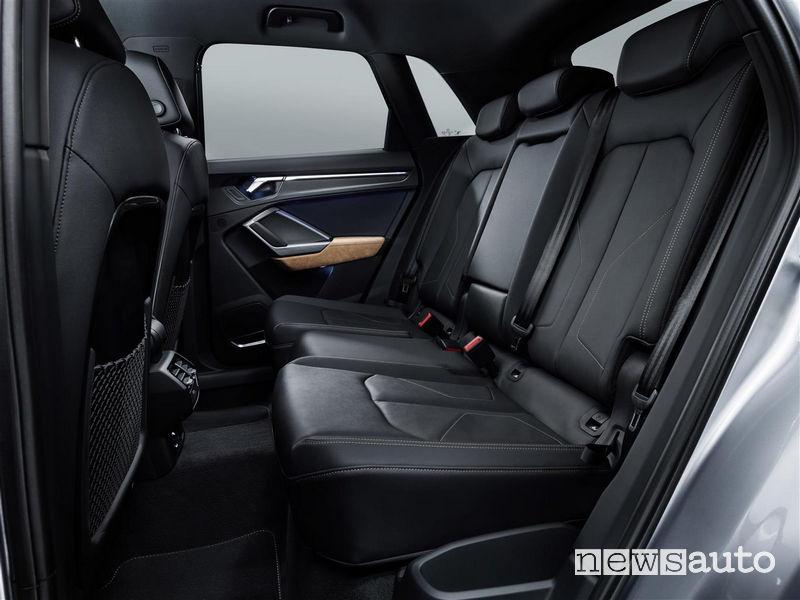 Nuova Audi_Q3 2019 sedili posteriori