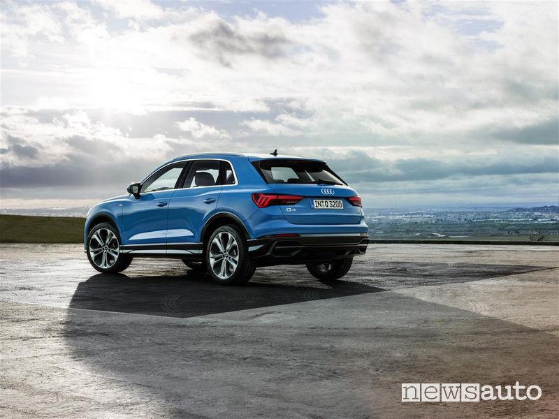 Nuova Audi_Q3 2019 vista posteriore