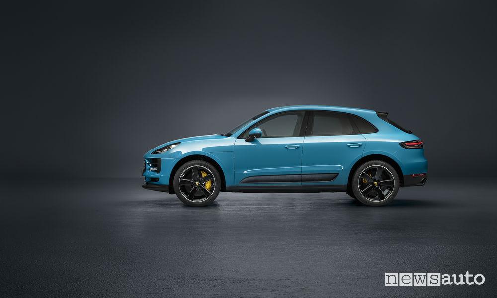 Nuova Porsche_Macan vista laterale