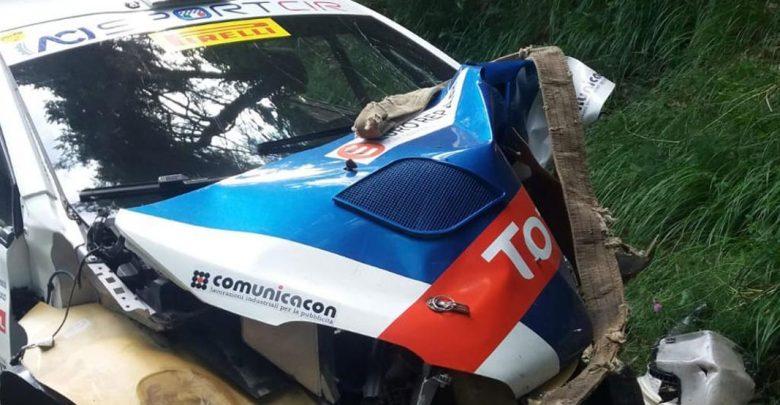 Paolo Andreucci incidente Peugeot Liguria 2018