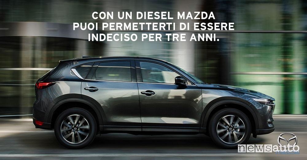 Promozione auto diesel, Mazda CX-5 in offerta