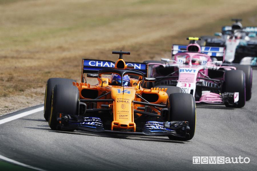 F1 2018 Gp Germania Hockenheim McLaren Fernando Alonso