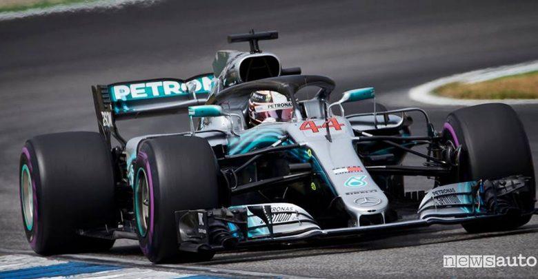 F1 2018 Gp Germania Hockenheim Mercedes AMG Lewis Hamilton