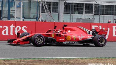 F1 2018 Gp Germania Hockenheim pole position Ferrari Sebastian Vettel