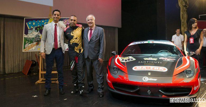 Record del Mondo Ferrari in Marocco Fabio Barone