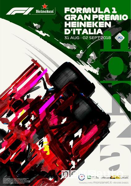 Manifesto del GP d'Italia 2018