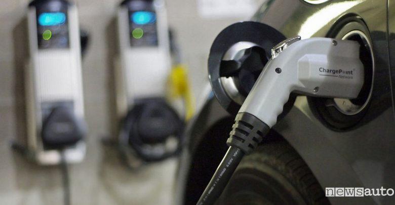 Ricarica domestica auto elettriche