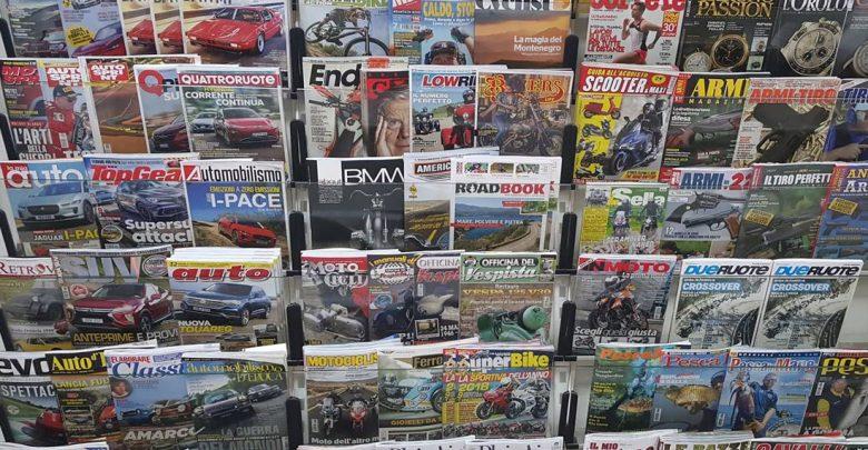 Riviste magazine in edicola ufficio-stampa