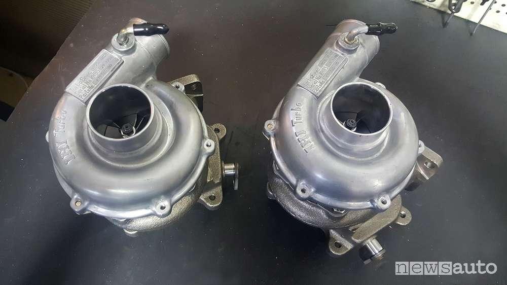 kit turbo maserati biturbo saito
