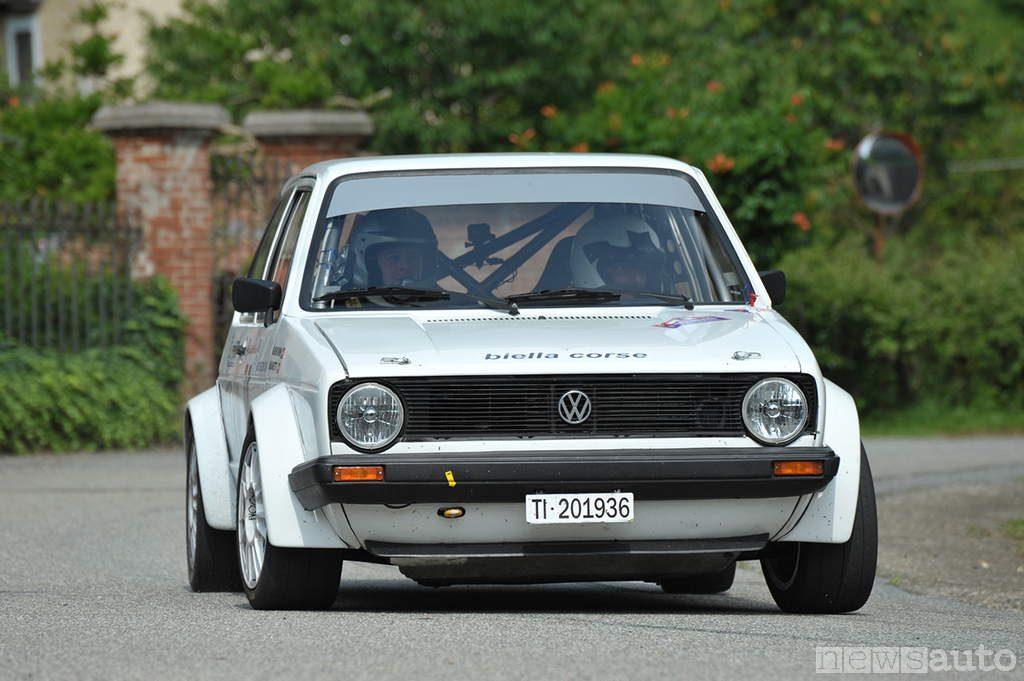 auto storiche da corsa golf gti mk1