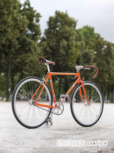 Peugeot bicicletta Legend LU01 arancione