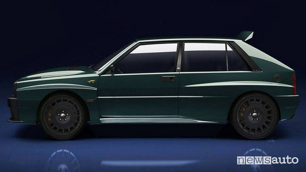 Lancia Delta Integrale Futurista Amos Automobili