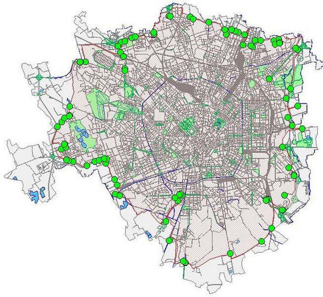 Mappa Milano Area B