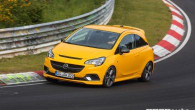 Opel Corsa GSi 2019 in pista al Nürburgring-Nordschleife
