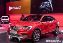 Nuovo crossover Renault Arkana al Salone di Mosca 2018