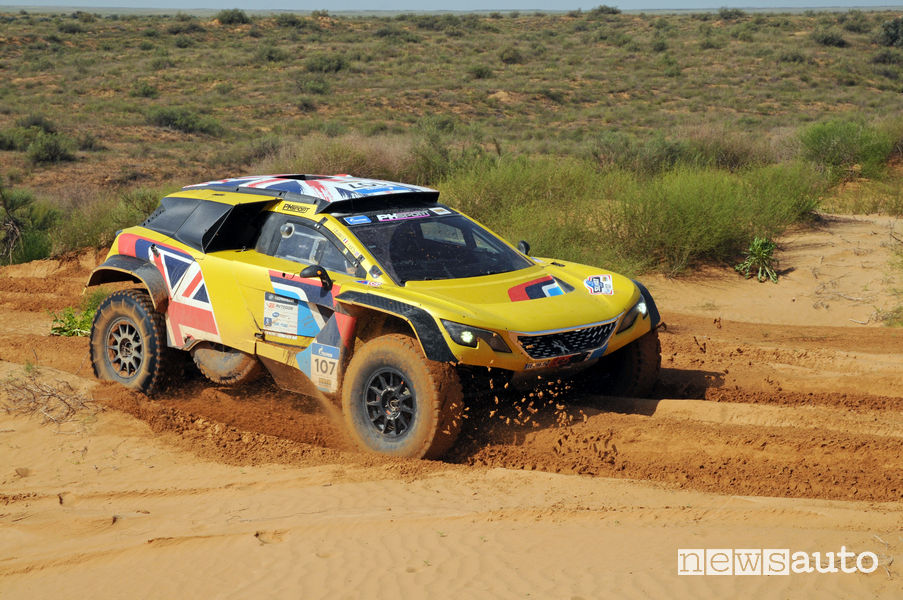 Silk Way Rally_2018 Peugeot 3008 DKR Maxi Hunt/Delaunay