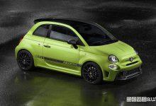 Abarth 595 2019 Competizione verde adrenalina, vista laterale