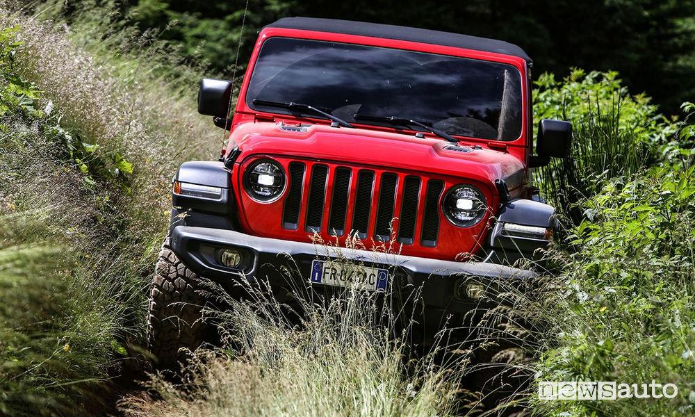 Jeep Wrangler LJ Rubicon 2019 al 4x4 Fest 2018 Carrara
