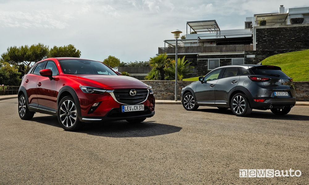 test drive Mazda CX-3 2019
