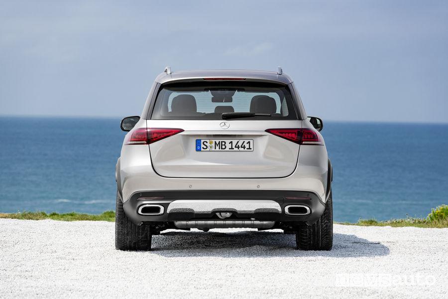Mercedes-Benz GLE 2019, posteriore