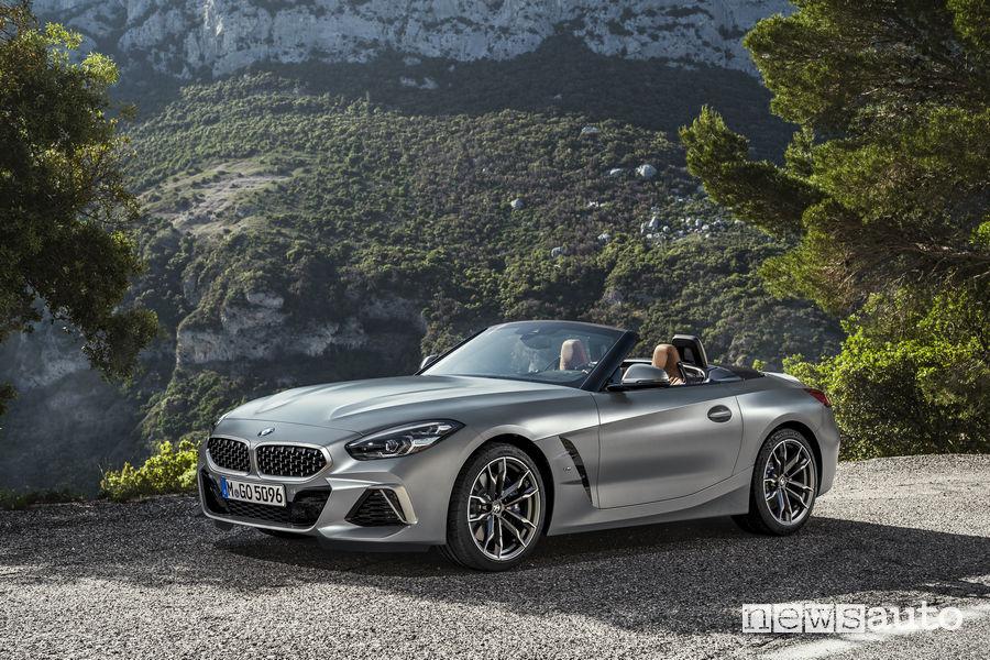 Nuova BMW_Z4 2019, vista di profilo