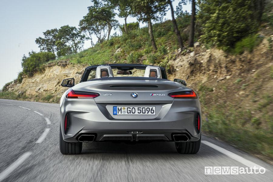 Nuova BMW_Z4 2019, vista posteriore