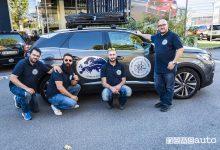 Peugeot 3008 in viaggio sulla Via della Seta, Peugeot Crew in partenza da Milano