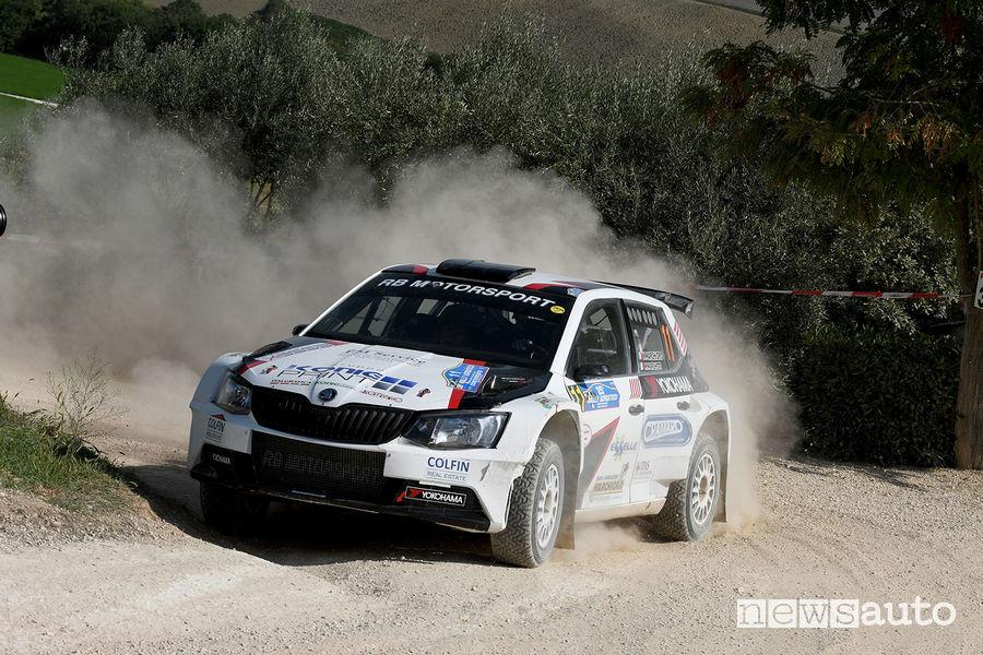 Rally_Adriatico 2018, Nicolo Marchioro (Skoda Fabia R5)
