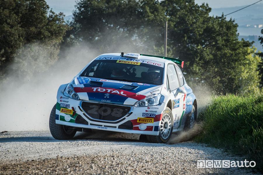 Rally_Adriatico 2018, Peugeot 208 T16 Andreucci