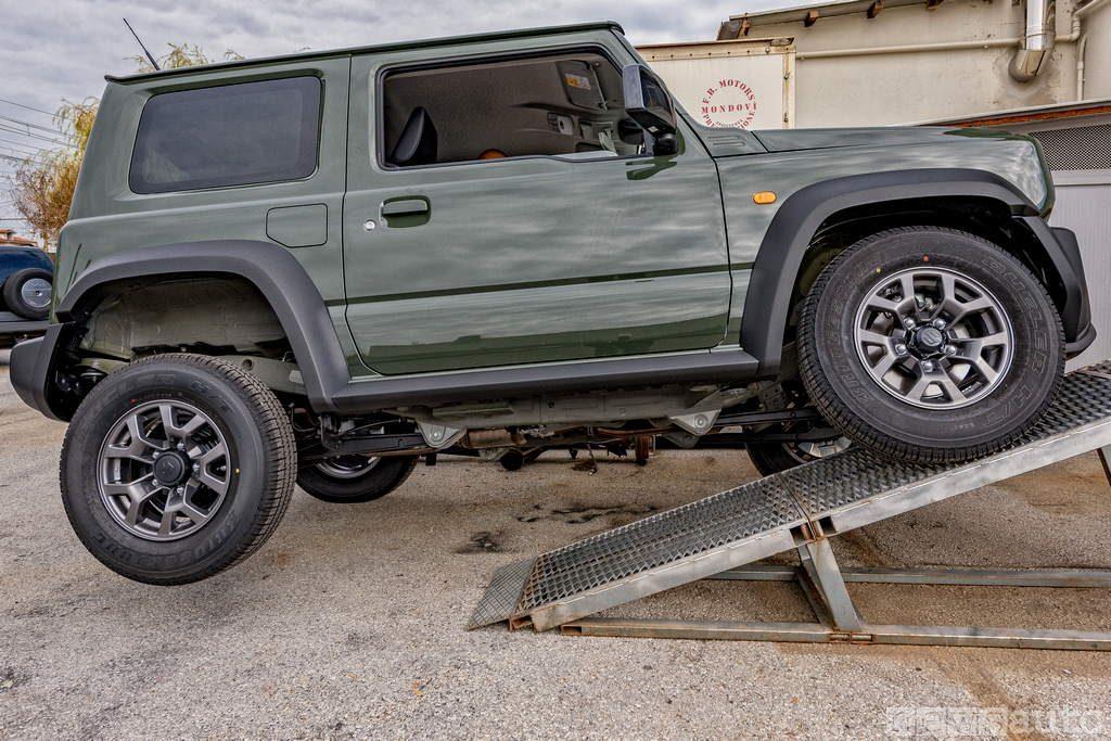 RAMP TEST RTI Suzuki Jimny