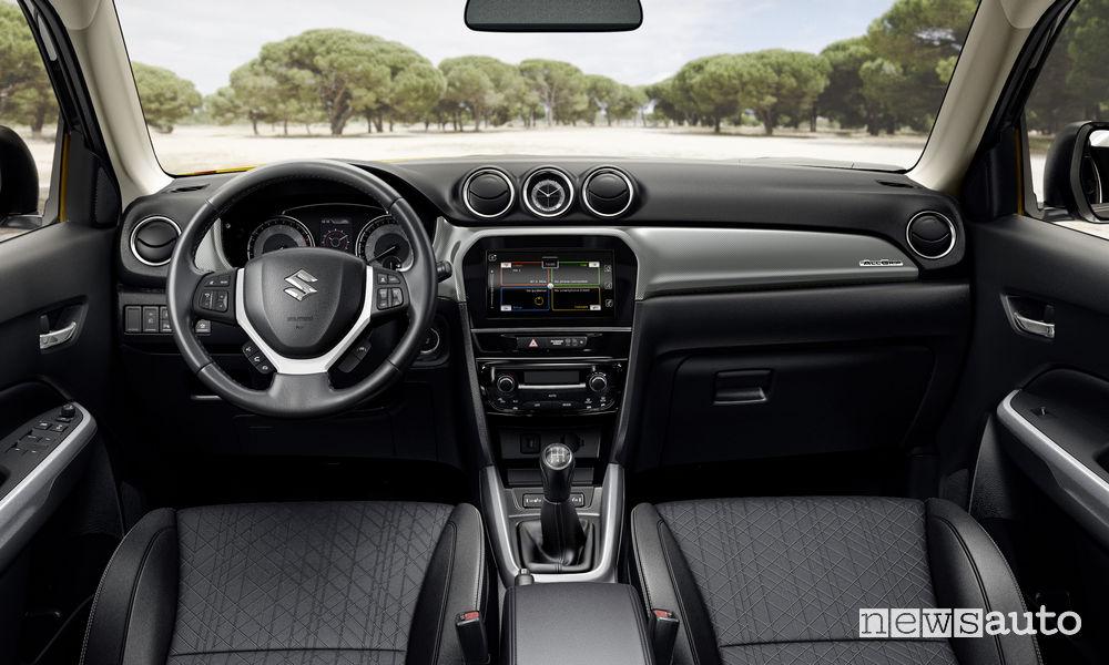 Suzuki Vitara 2019, plancia strumenti abitacolo